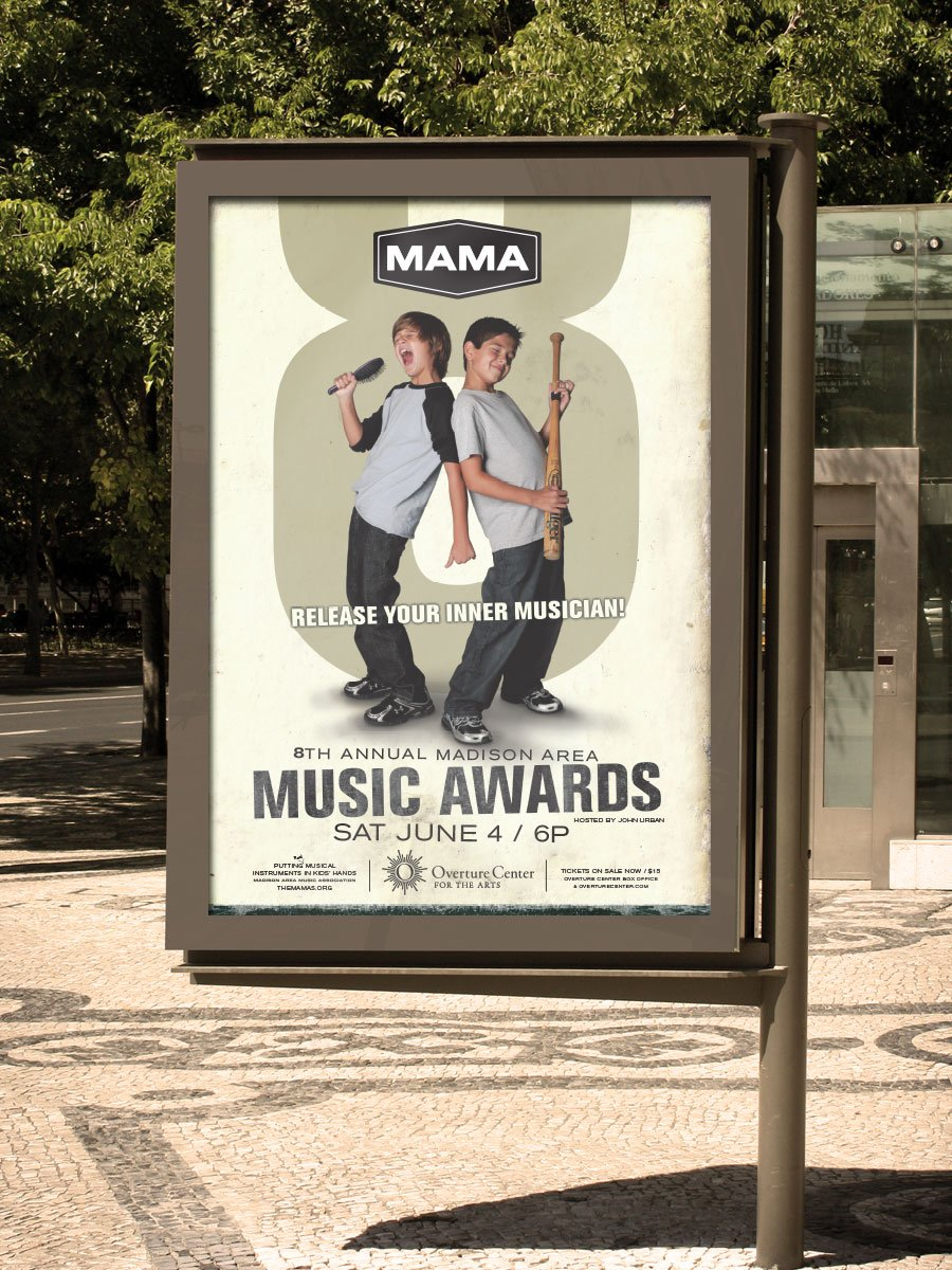 MAMA 2011 official event poster