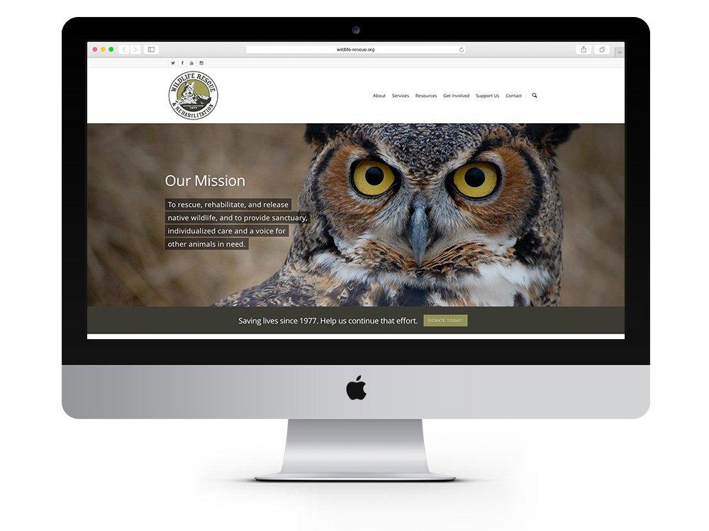 Wildlife Rescue & Rehabilitation website
