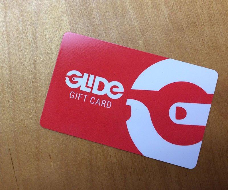 Glide gift card