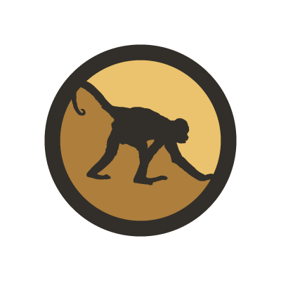 Primates Incorporated monkey symbol