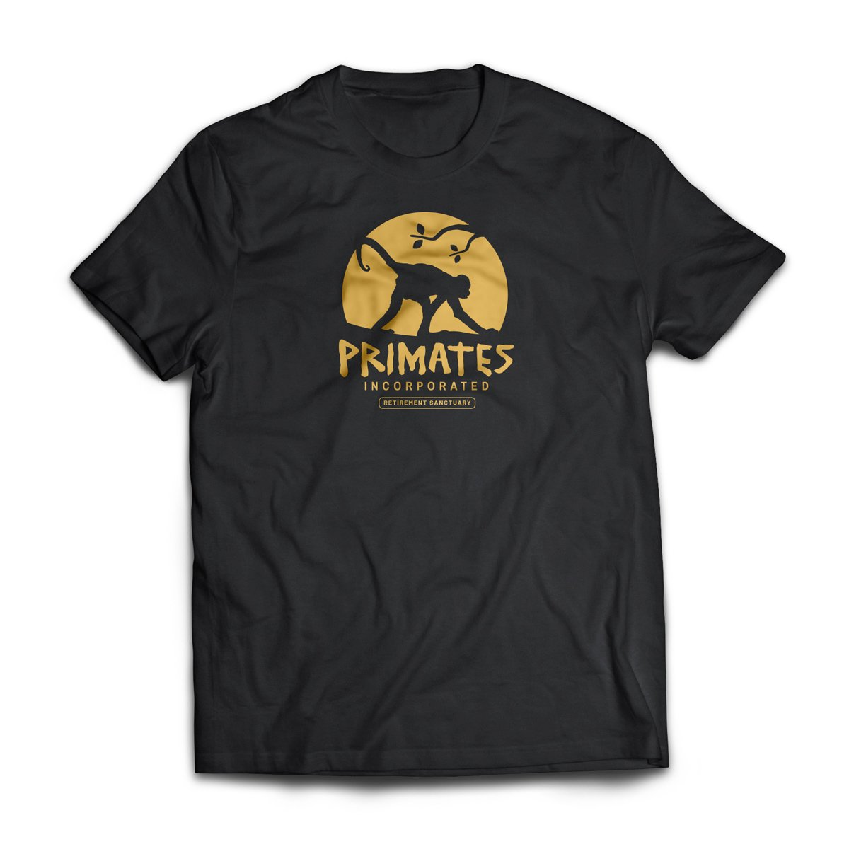 Primates Incorporated sun tshirt