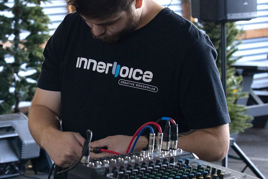 photo of Innervoice technician